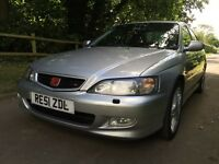 Honda Accord 2.2 Type R 210 Bhp 2 owners Honda history refurbed alloys new tyres very fast