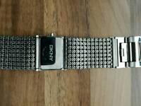 DKNY diamonte watch