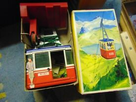 cable car vintage rare toy 1960s boxed original collect aberbargoed