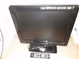 Philips 20 inch crystal clear digital tv with 2 scarts and 2 hdmi and remote