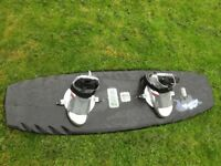Hyperlite wakeboard: 137. Sun. BAG + BINDINGS INC. make me an offer!