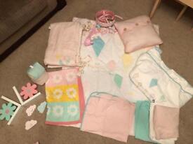 Nursery bundle for twins or can half