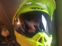 Motorcycle motorbike scooter helmet