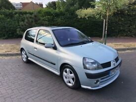 2003 Renault Clio 1.4 Dynamique Billabong New MOT Recently Serviced