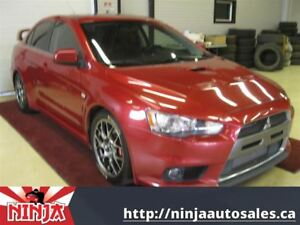 2008 Mitsubishi LANCER EVOLUTION Evo X MR AWD Nav DVD Recaro Sun