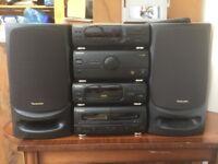 Technics CD Stereo System: SC-CH404