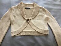 Principles short knitted cardigan/jacket - petite Size 8
