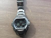 Casio G Shock men's watch 2738 fair condition with instructions