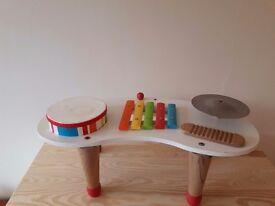 ELC musical drum kit