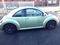 VW beetle 1.6 petrol MOT December very good condition for their age in auto trader £2500 pound car