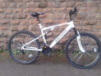 BOSS Astro Men's Mountain Bike - White, 26 Inch RRP £225