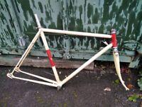 1950s / 60s Claud Butler road bike frame - retro vitus campagnolo
