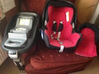 Cabrio Fix seat and isofix base