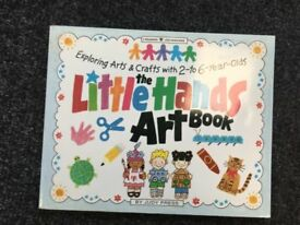 The Little Hands Art Book - arts and crafts for kids