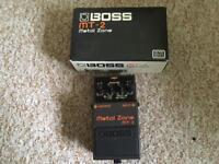 Boss Metal Zone Effects Pedal MT2