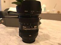 Used NikonAF-S DX NIKKOR 16-85mm f/3.5-5.6G ED VR Lens