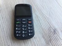 Sim Free Alba Big Button Mobile Phone - Black - Never Used