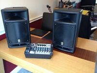 Yamaha Stagepas 300 PA 150 watts per channel
