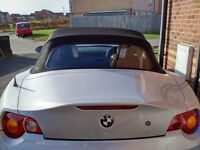 BMW Z4 CONVERTIBLE 2.2 SE LEATHER INTERIOR ELECTRIC ROOF FSH (SWAP PX P/X P/EX PART EXCHANGE WHY?)
