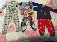3 pairs of pjs suitable for age 2-3 £5 for all
