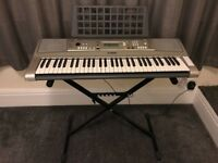 YAMAHA E313 PSR Keyboard, Stand, Owner's Manual and Carry Case