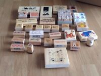30+ Wooden Craft Stamps