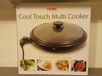 Cooks pro cool touch multi cooker