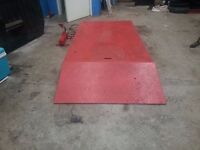 Motorcycle / quad lift table