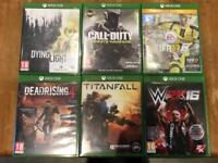 Used Xbox One games Fifa / Call of Duty