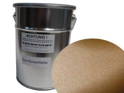 0,5 Liter 1K Autolack Kunstharz Champagner Beige Metallic Matt Lackpoint neu !