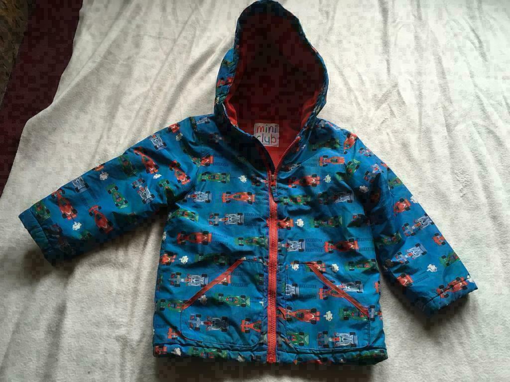 e468bafe6edc Baby boys mini club waterproof hoody jacket age 5 6yrs used £3
