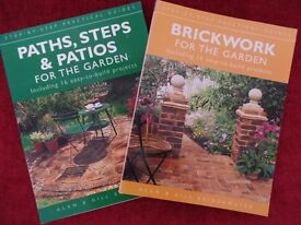 TWO FULLY ILLUSTRATED GARDEN BUILDING BOOKS