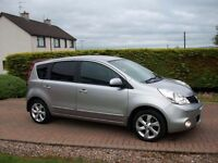 SEPTEMBER 2009 NISSAN NOTE 1.4. N-TEC **ONLY 44,000 MILES**
