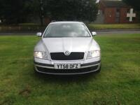 Skoda Octavia 2008 1.9 diesel new timing belt full service history hpi clear excellent drive
