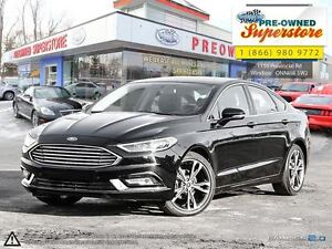 2017 Ford Fusion ***TITANIUM- NAV/LEATHER/AWD***