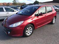Peugeot 307 1.4 16v S 5dr 2006 (56 reg), Hatchback £899