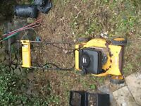 spares or repair,lawnmower with briggs and stratton engine