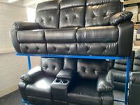 NEW - EX DISPLAY LAZYBOY MANNING 3 + 2 SEATER RECLINER SOFAS SOFA, 70%Off RRP