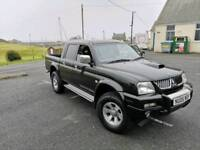 L200 Warrior Mitsubishi Crew Cab Pick Up