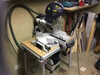 FESTOOL KAPEX 120eb 240v, with CTL MIDI EXTRACTOR, and TABLE