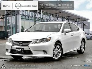 2015 Lexus ES 350 Touring Package! Nav! Leather! Blind Spot!