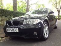 2005 BMW 118D SPORT 1 FORMER KEEPER REAR PARKING SENSORS DRIVES MINT (£2200 FINAL) (not 120d msport)