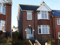 EXMOUTH Spacious 3 Bed unfurnished Semi Detached house in Central location