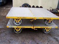 Permaquip type B rail trolley