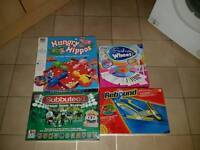 Four board games