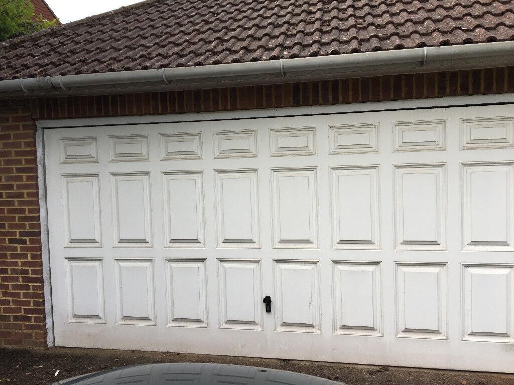 Cardale Georgian Garage Door 14x7ft Up And Over Including Motor
