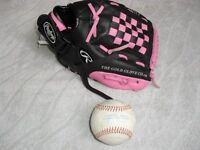 RAWLINGS PLAYERS SERIES PERFORMANCE DESIGNED BASEBALL GLOVE & BALL FINEST IN THE FIELD