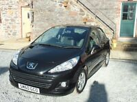 2010 Peugot 207 1.4 Envy 40000 miles Bluetooth Mot Aug 2017 12 months Warranty and Recovery