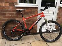 "Kona Kula Gold mountain bike 18"" frame. 26"" wheels"