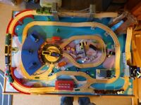 Universe of Imagination Wooden Train Set